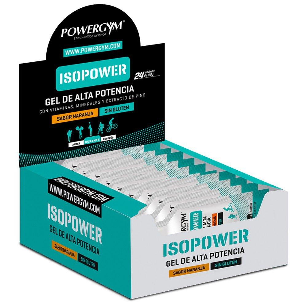 Powergym Isopower Gel 40g 24 Units Orange One Size