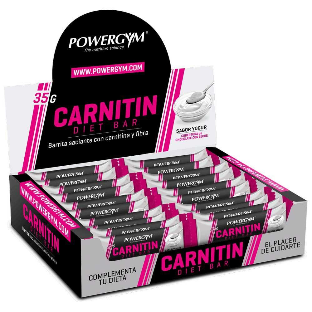 Powergym Carnitin Diet Bar 35g 32 Units Yoghourt One Size