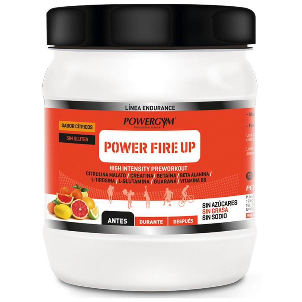 Powergym Power Fire Up 450g Agrumes One Size