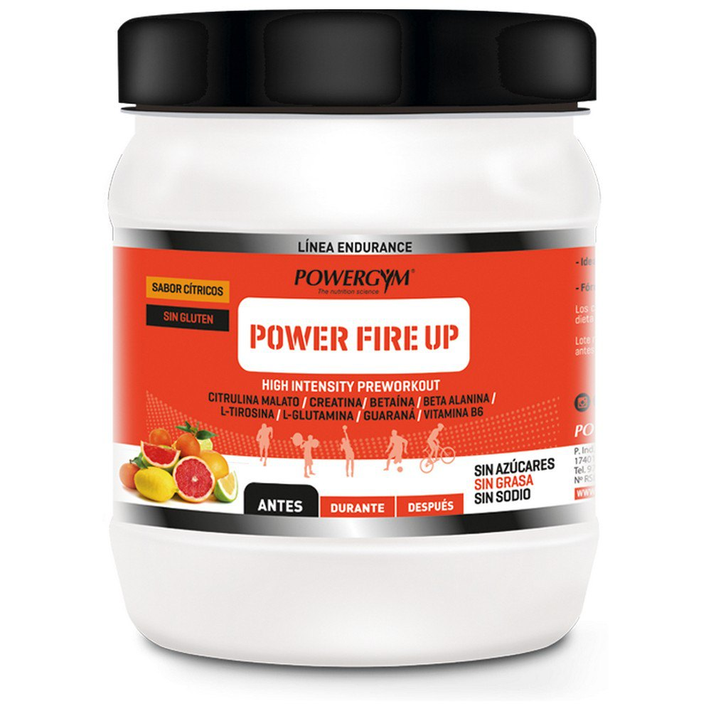 Powergym Power Fire Up 810g Agrumes One Size