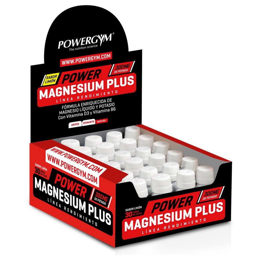 Powergym Power Magnesium Plus 30 Units Lemon One Size