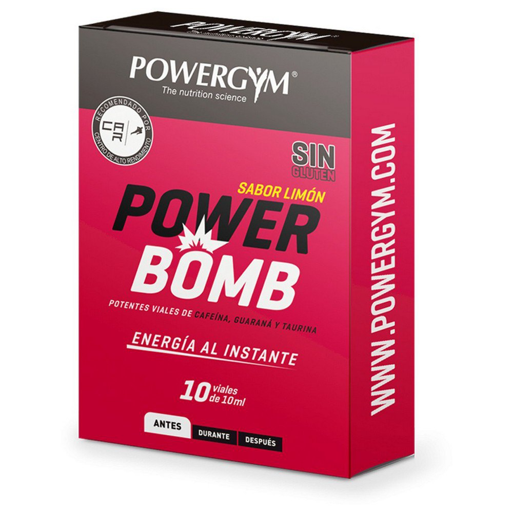 Powergym Powerbomb 10 Units Lemon One Size