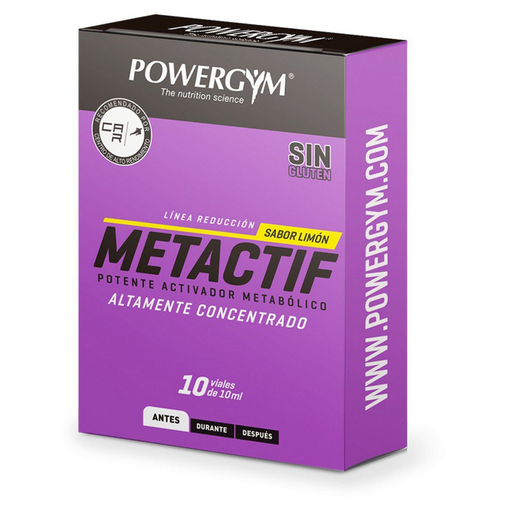 Powergym Metactif 10 Units Lemon One Size