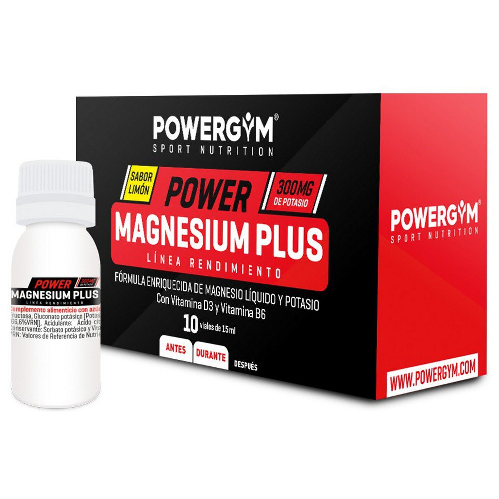 Powergym Power Marnesium Plus 10 Units Lemon One Size