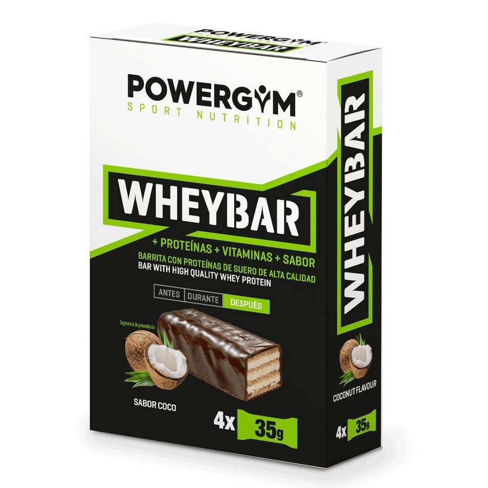 Powergym Whey Bar 35g 4 Units Coconut One Size