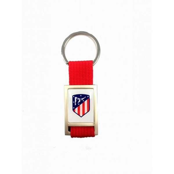 Seva Import Porte-clés Atletico Madrid One Size Silver / Red