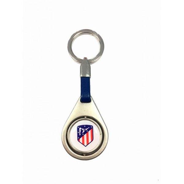 Seva Import Porte-clés Atletico Madrid One Size Silver / Blue