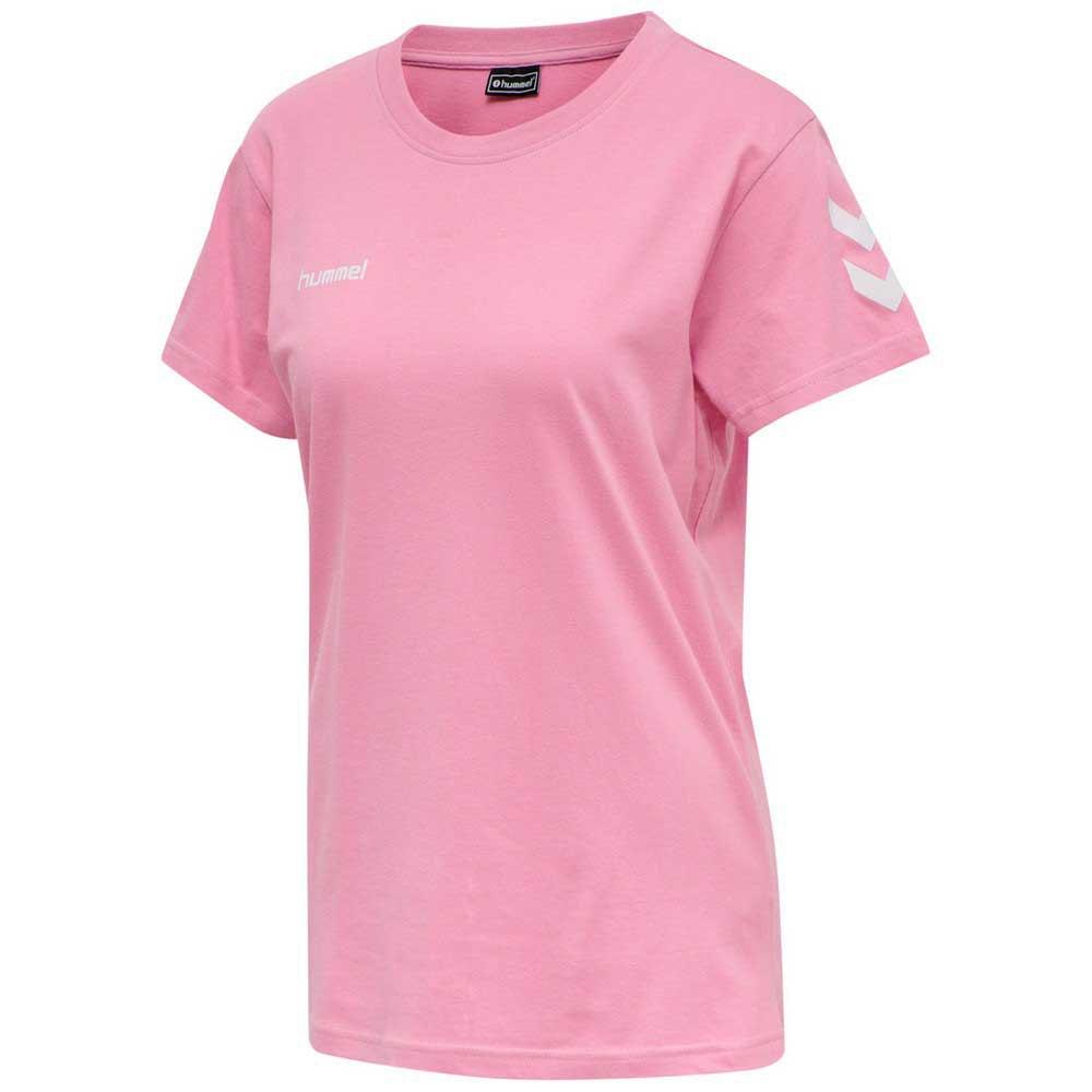 Hummel T-shirt Manche Courte Go Cotton XS Cotton Candy