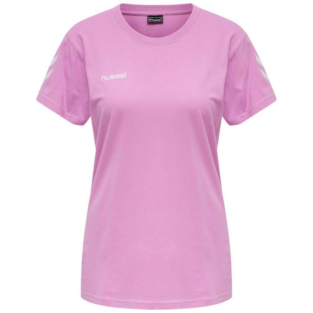 Hummel T-shirt Manche Courte Go Cotton XS Orchid