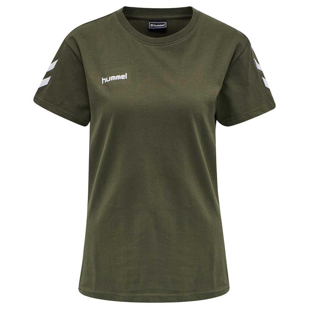 Hummel T-shirt Manche Courte Go Cotton XS Grape Leaf