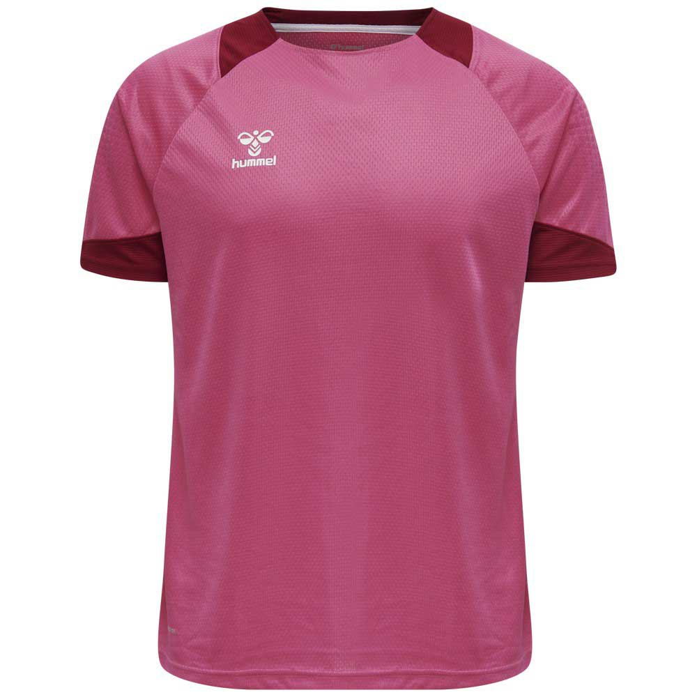 Hummel T-shirt Manche Courte Lead Poly S Raspberry Sorbet