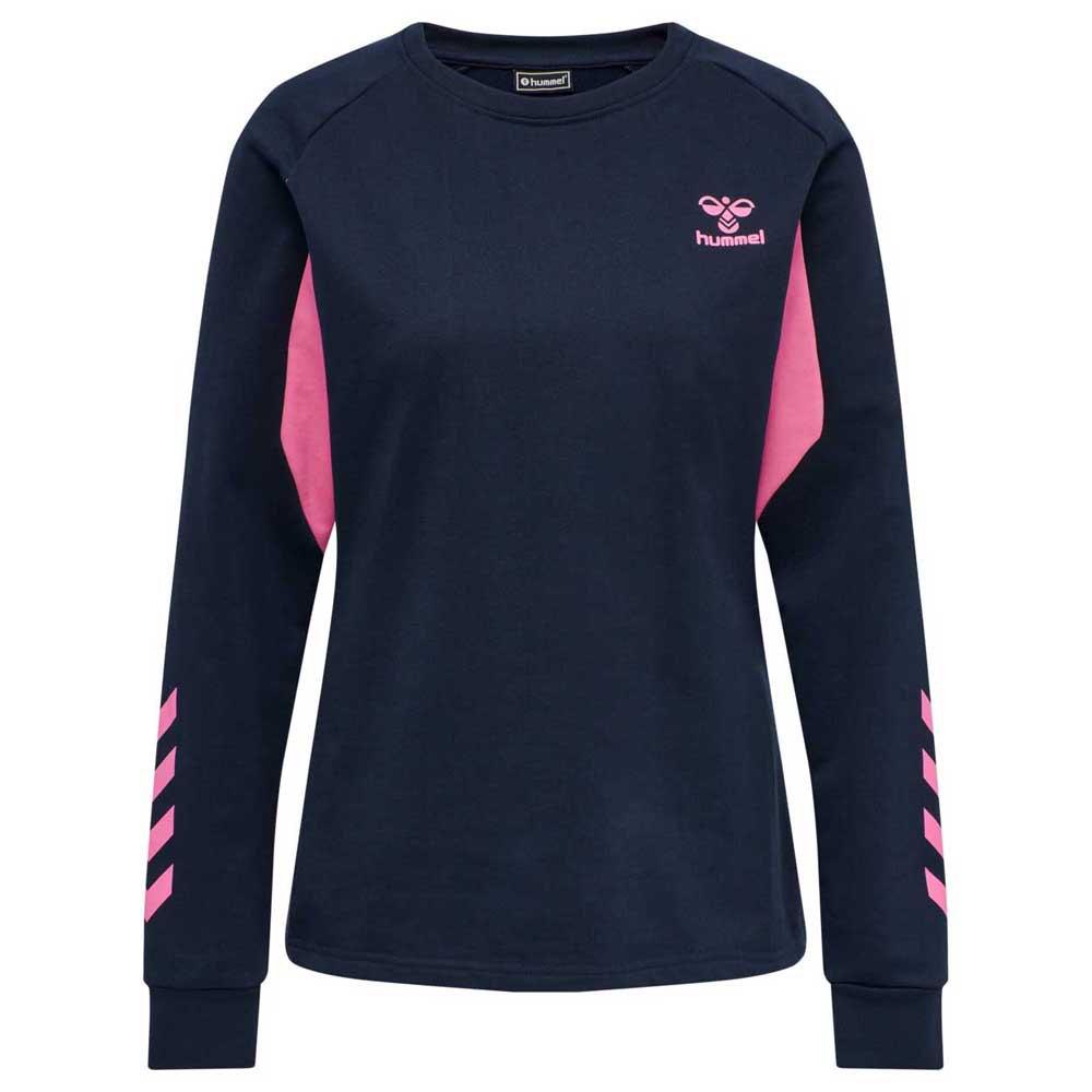 Hummel Sweatshirt Action Cotton XS Black Iris / Sugar Plum