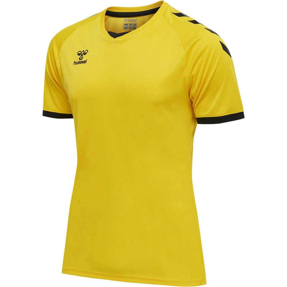 Hummel T-shirt Manche Courte Core Volley S Blazing Yellow