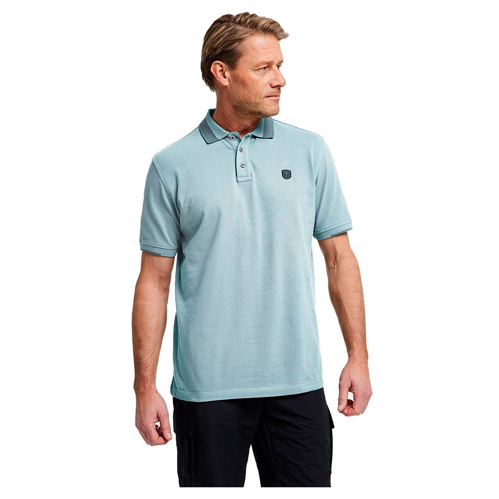 Tenson Polo Manche Courte Essential M Light Blue
