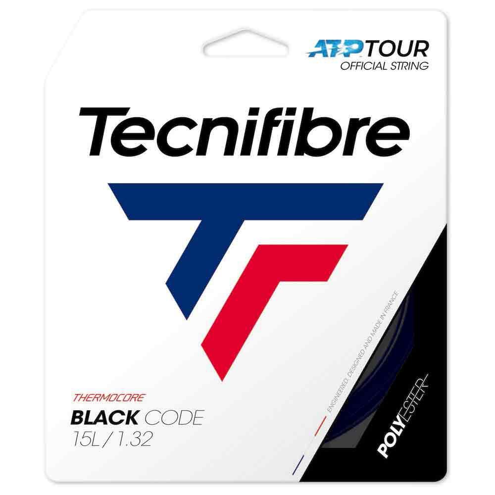 Tecnifibre Cordage Unité Tennis Black Code 12 M 1.18 mm Black