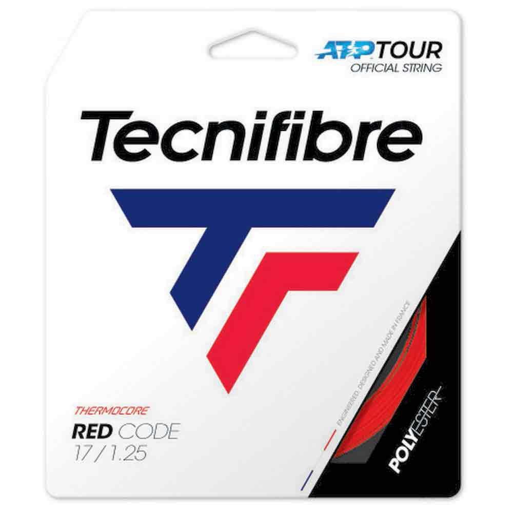 Tecnifibre Cordage Unité Tennis Pro Red Code 12 M 1.20 mm Red