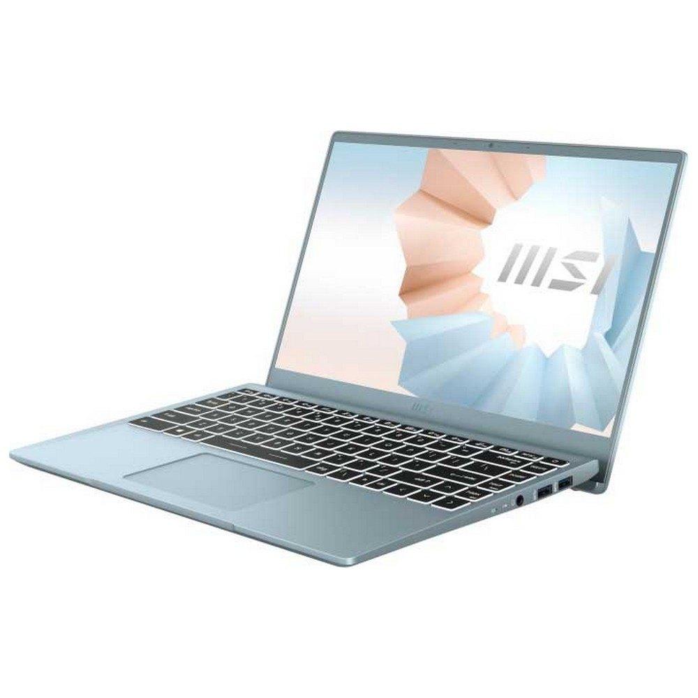 Portátil Msi B11m Modern 091xes 14'' I7-1165g7/16gb/512gb Ssd Spanish QWERTY Blue