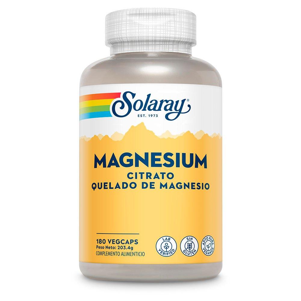 Solaray Magnesium Citrate 180 Units One Size