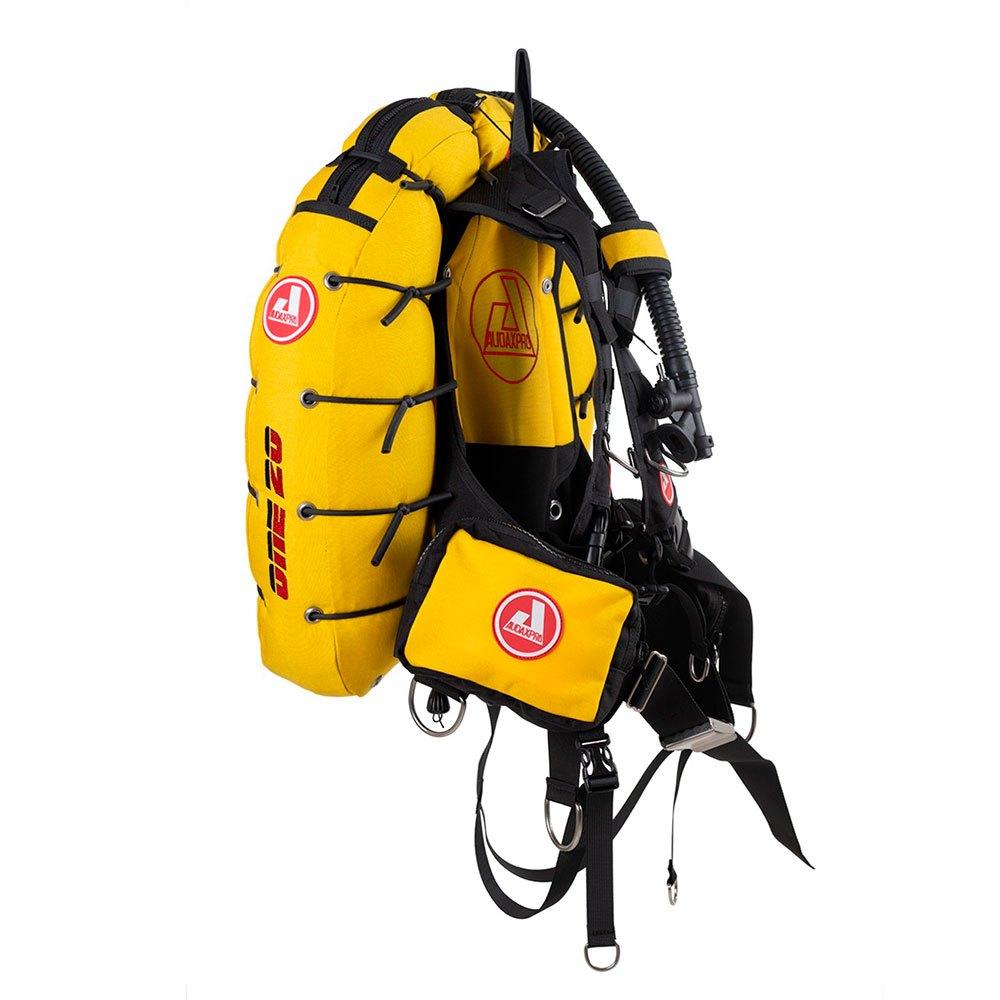 Audaxpro One 20l Tarierjacket L-XL Yellow Westen One 20l Tarierjacket