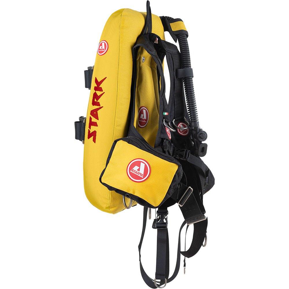 Audaxpro Stark Evo 16l Tarierjacket L-XL Yellow Westen Stark Evo 16l Tarierjacket