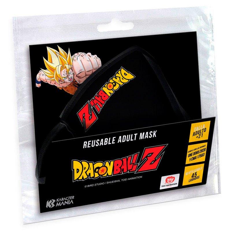 Karactermania Masque Dragon Ball Z Logo One Size Black