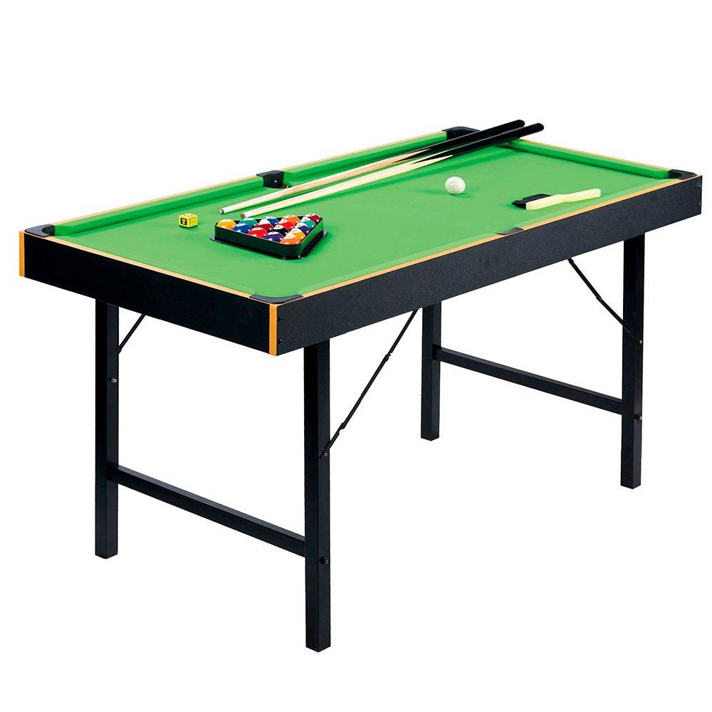 Color Baby Table Billiard Avec Base Pliable De Métal 121 x 61 x 73 cm Wooden