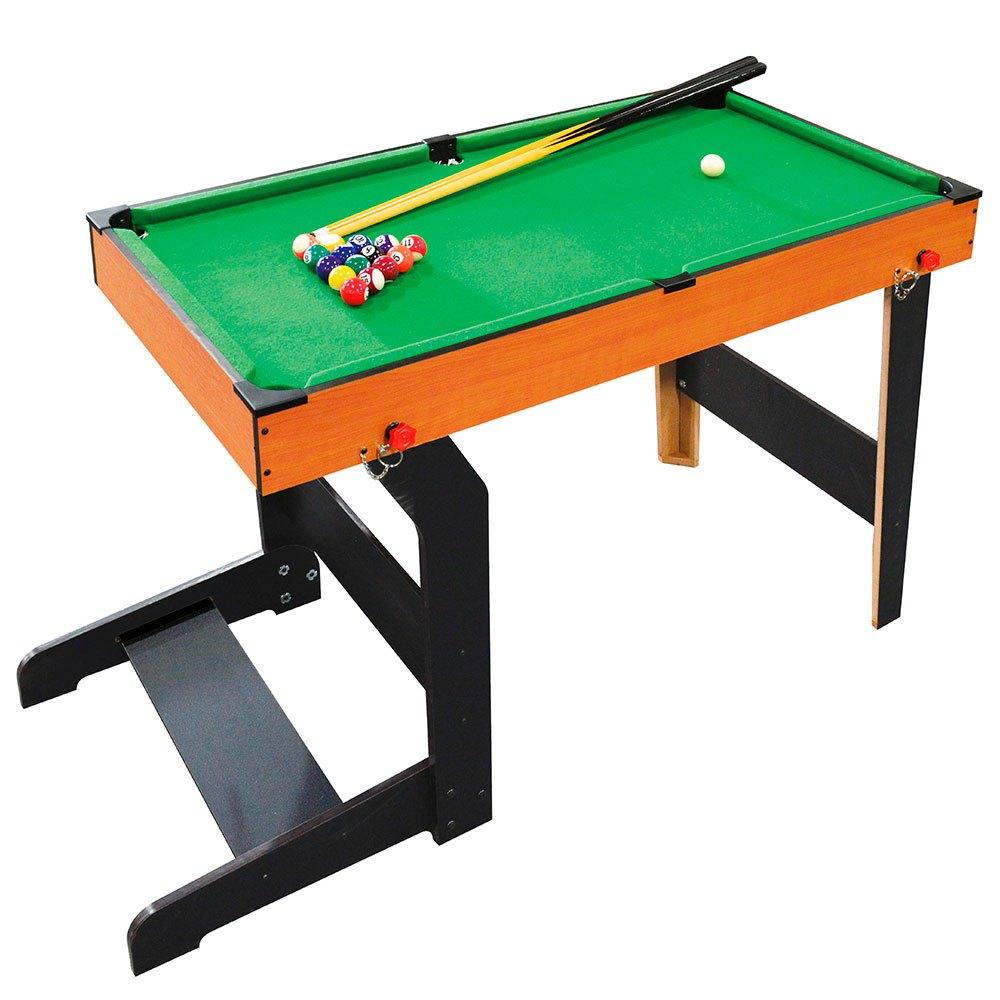Color Baby Table Billiard Avec Base Pliable 101 x 51 x 70 cm Wooden