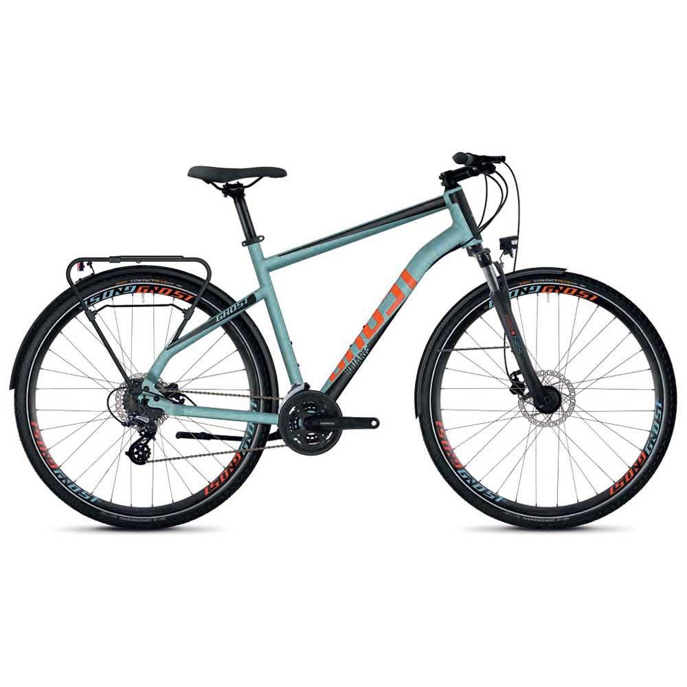 Ghost Bikes Square Trekking 2.8 Refurbished Xl River Blue / Jet Black / Monarch Orange