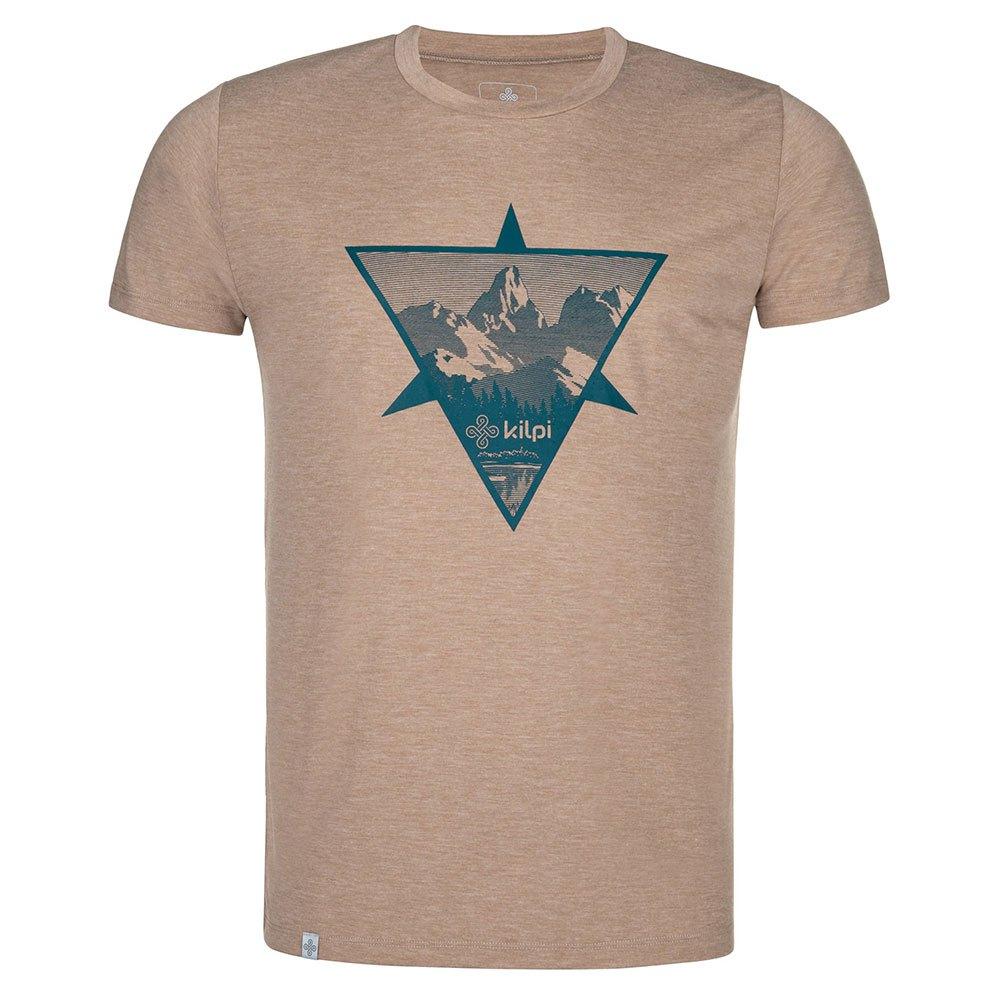 Kilpi T-shirt Manche Courte Garove S Beige