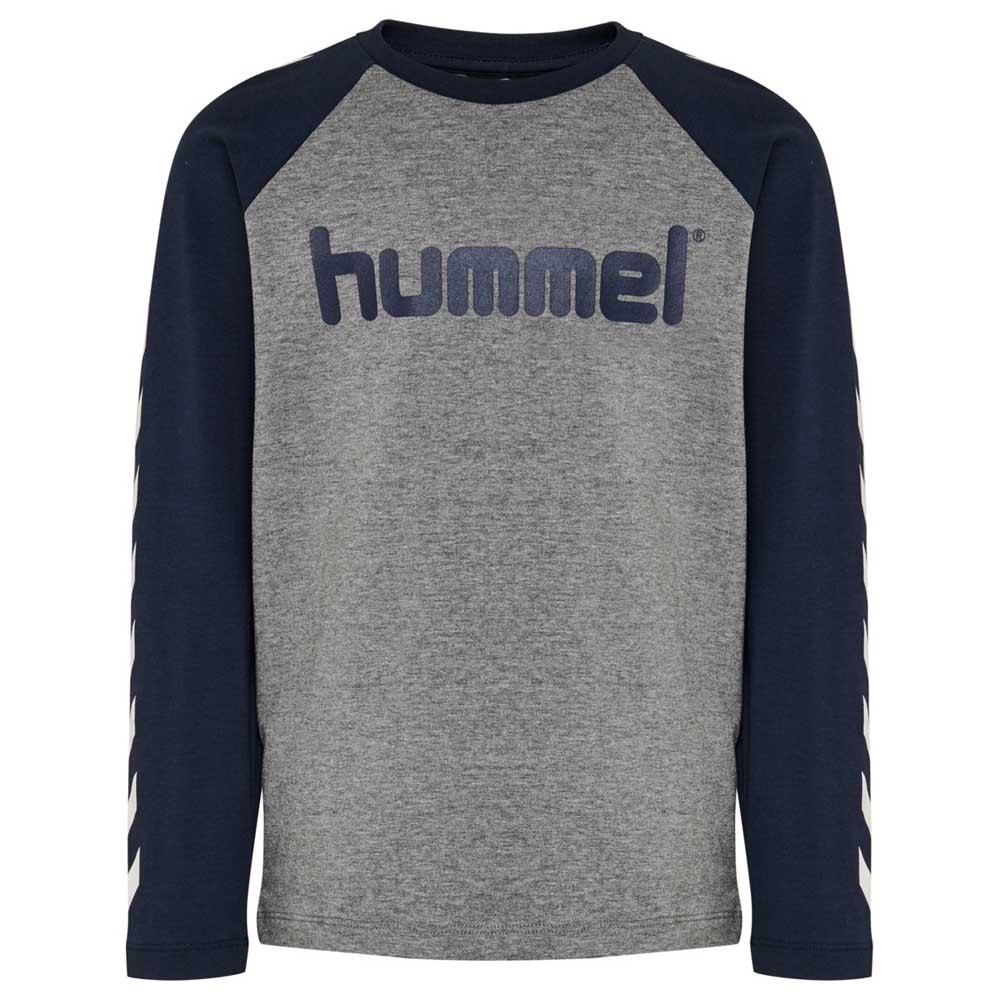 Hummel Boys T-shirt Manche Longue 104 cm Black Iris