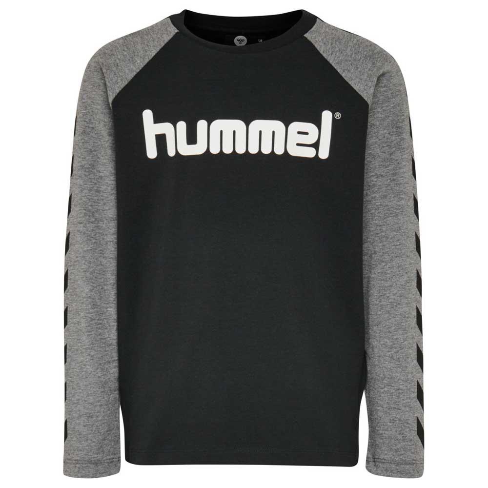 Hummel Boys T-shirt Manche Longue 104 cm Black