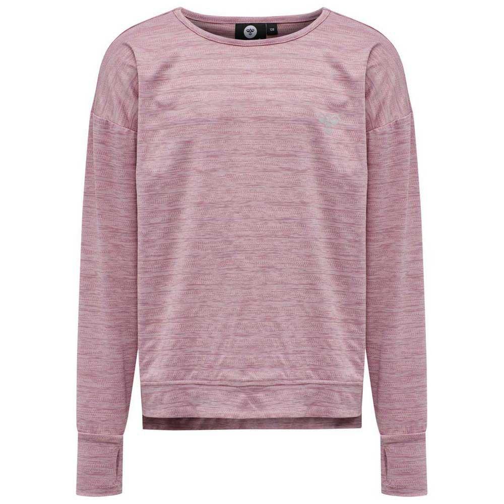 Hummel Lynette T-shirt Manche Longue 104 cm Heather Rose