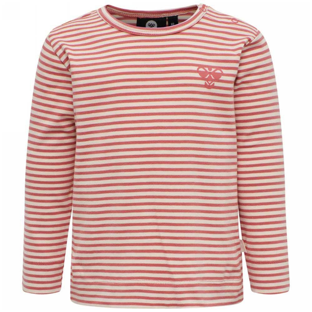 Hummel Loui T-shirt Manche Longue 68 cm Faded Rose