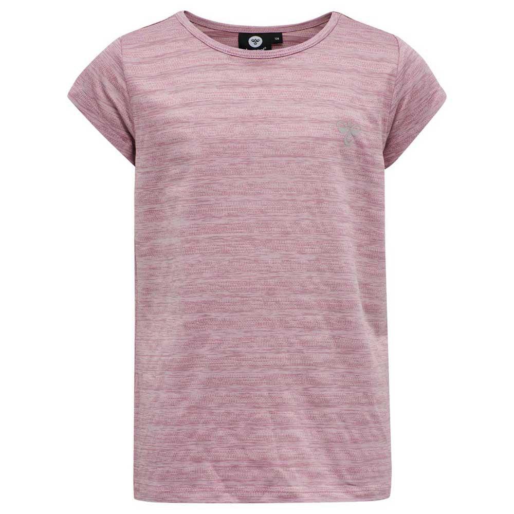 Hummel T-shirt Manche Courte Dakota 104 cm Heather Rose