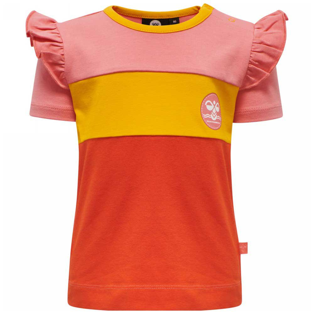Hummel T-shirt Manche Courte Anni 80 cm Tea Rose