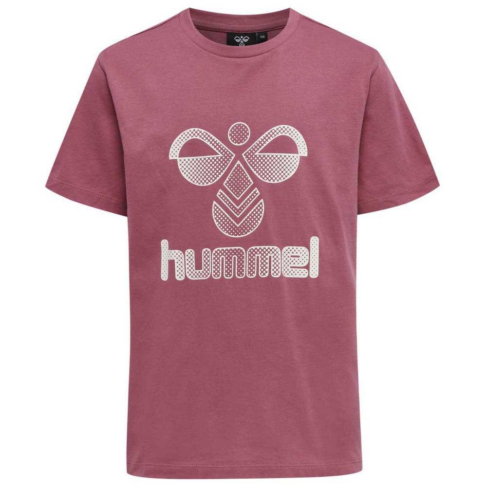Hummel T-shirt Manche Courte Proud 134 cm Rose Wine