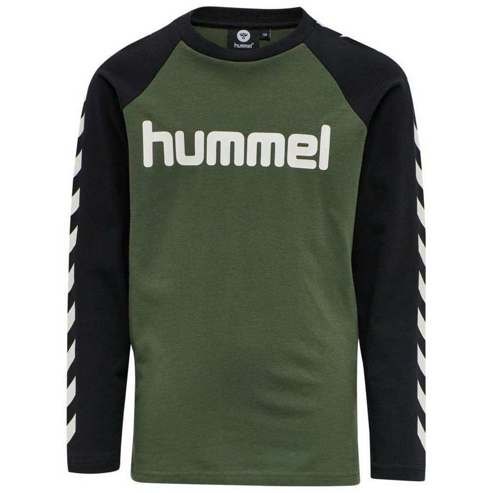 Hummel Boys T-shirt Manche Longue 110 cm Thyme