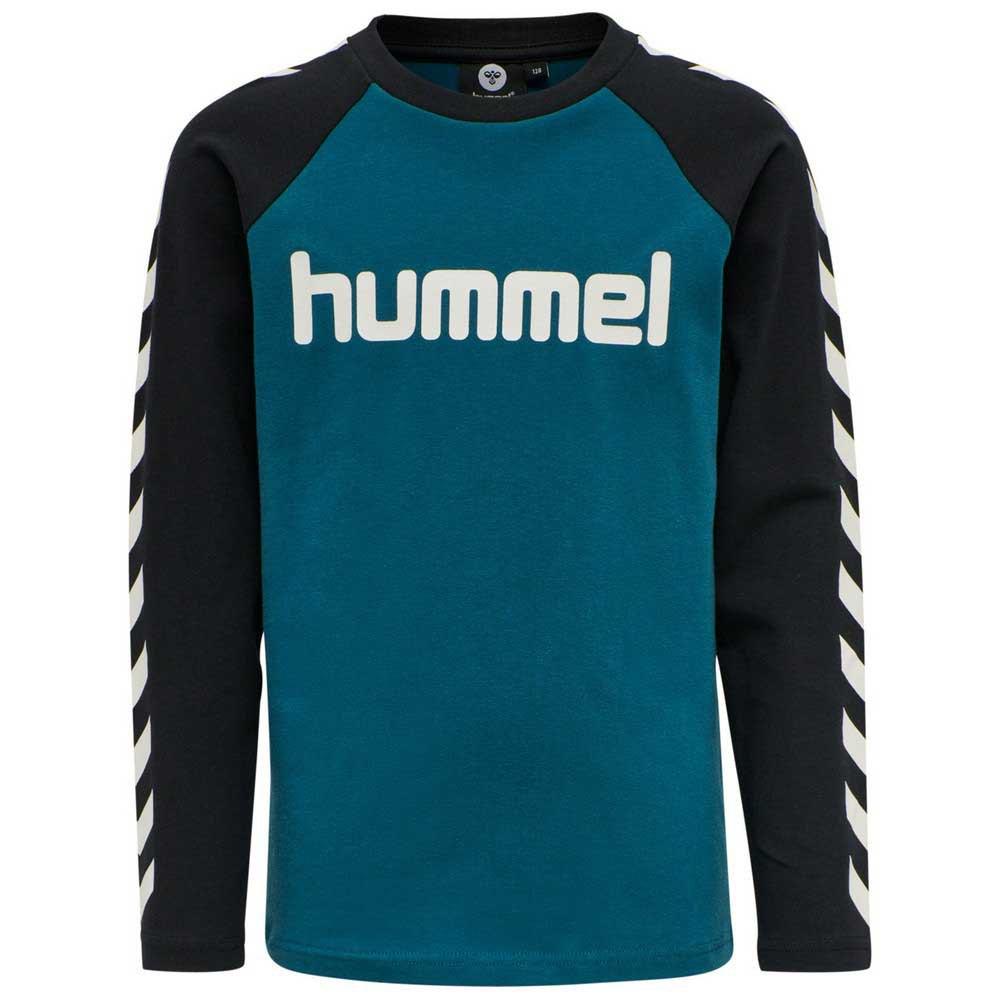 Hummel Boys T-shirt Manche Longue 140 cm Blue Coral