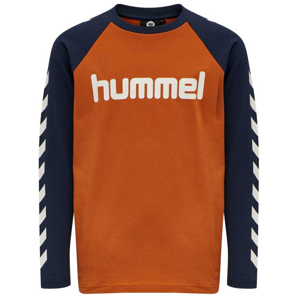 Hummel Boys T-shirt Manche Longue 110 cm Bombay Brown