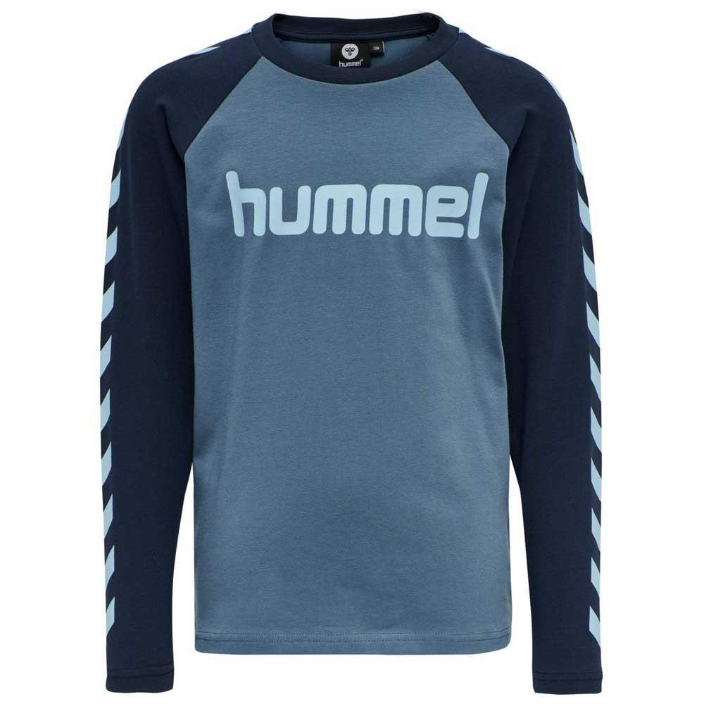 Hummel Boys T-shirt Manche Longue 104 cm China Blue
