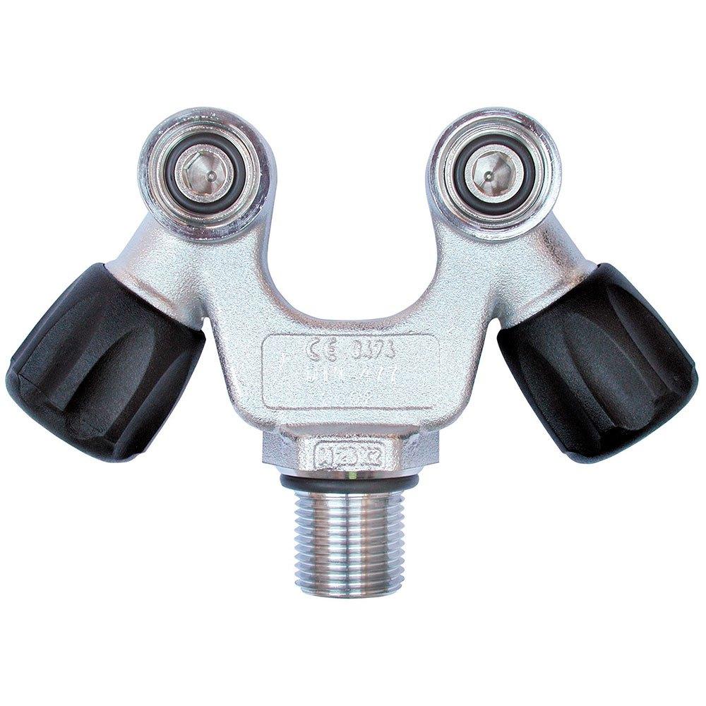 Sauerstoffflaschen Doppelventil V 10l 232 Bar