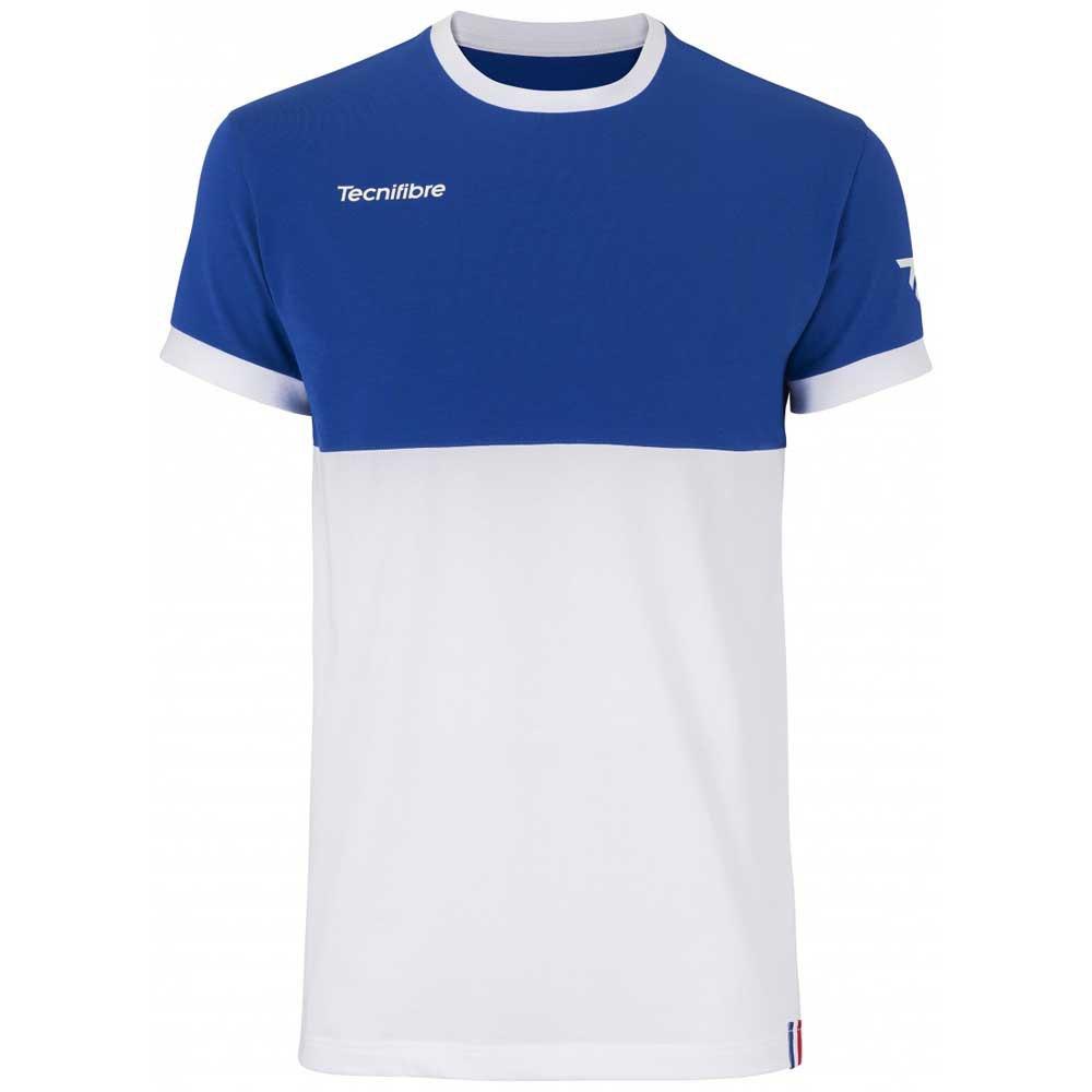 Tecnifibre T-shirt Manche Courte F1 Stretch 8-10 Years Royal