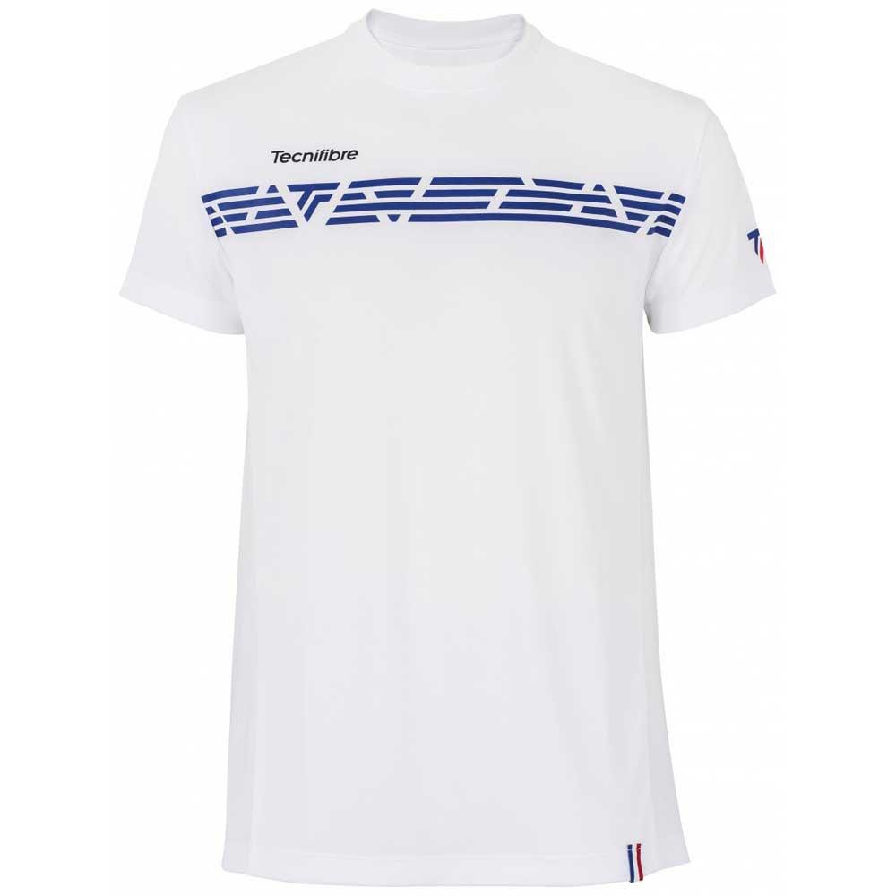 Tecnifibre T-shirt Manche Courte F2 Airmesh 6-8 Years Royal