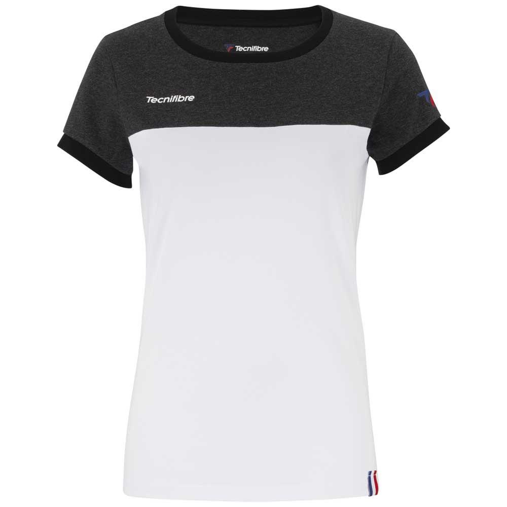 Tecnifibre T-shirt Manche Courte F1 Stretch 6-8 Years Black
