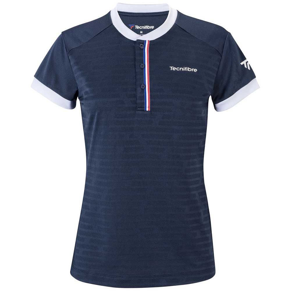 Tecnifibre T-shirt Manche Courte F3 6-8 Years Navy