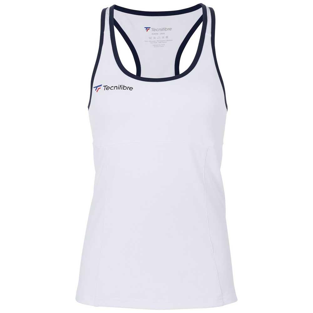 Tecnifibre T-shirt Sans Manches F3 6-8 Years White