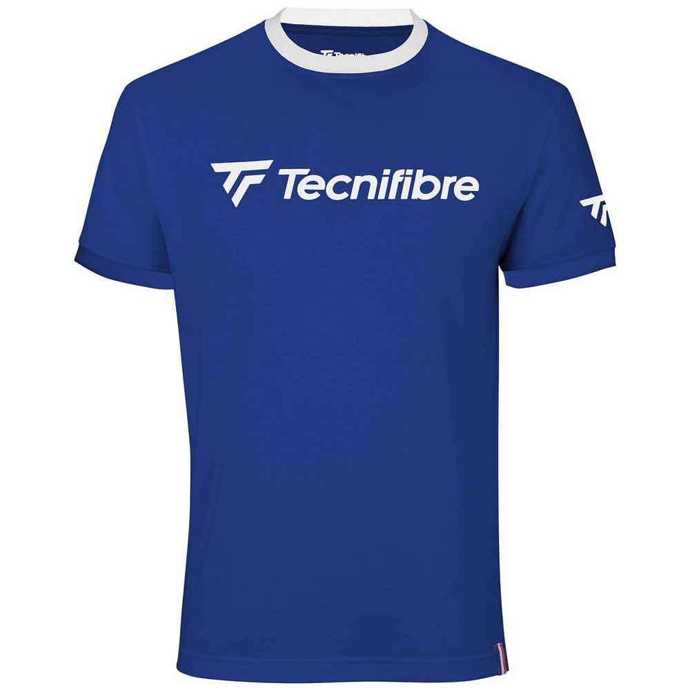 Tecnifibre T-shirt Manche Courte Cotton 6-8 Years Royal