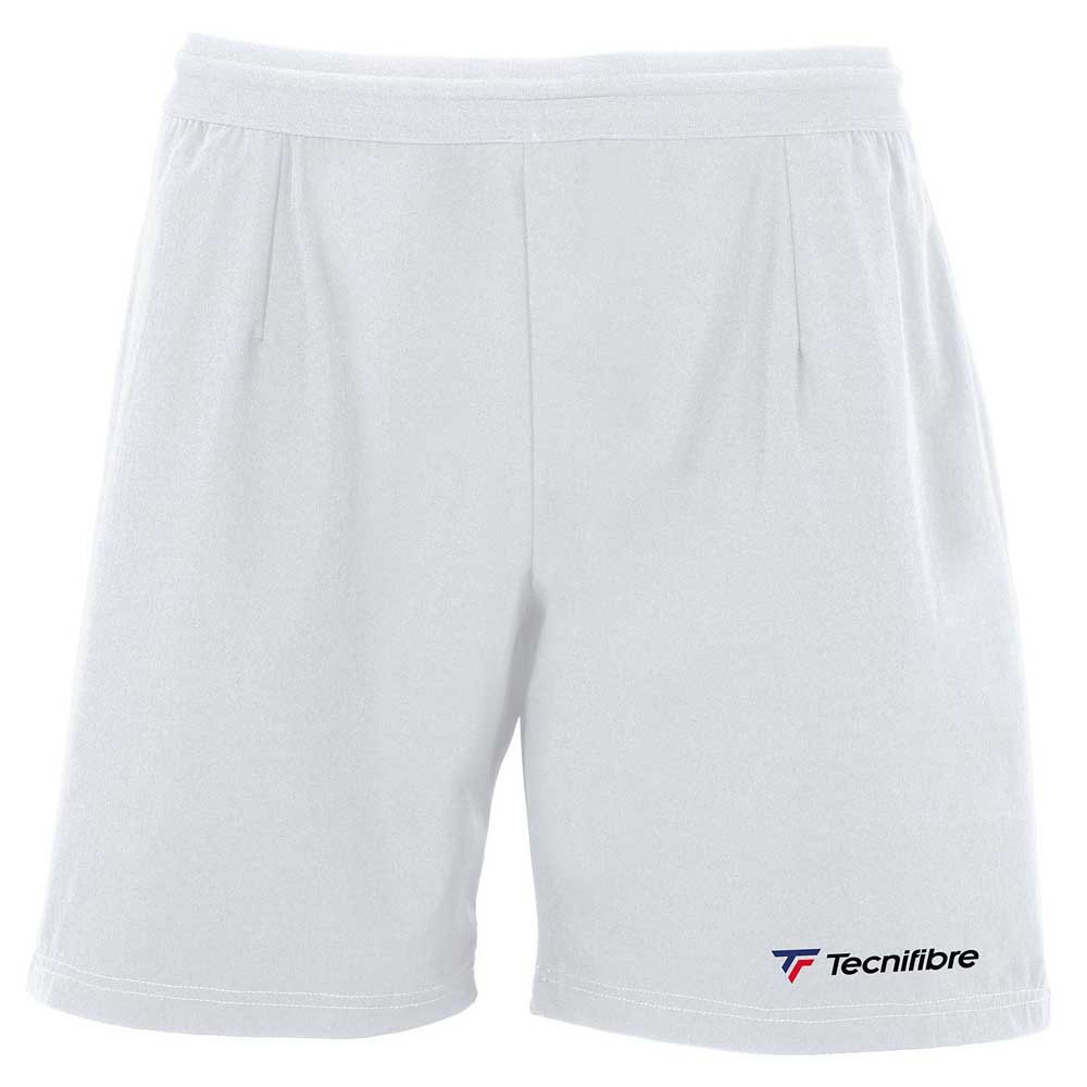 Tecnifibre Short Stretch 8-10 Years White