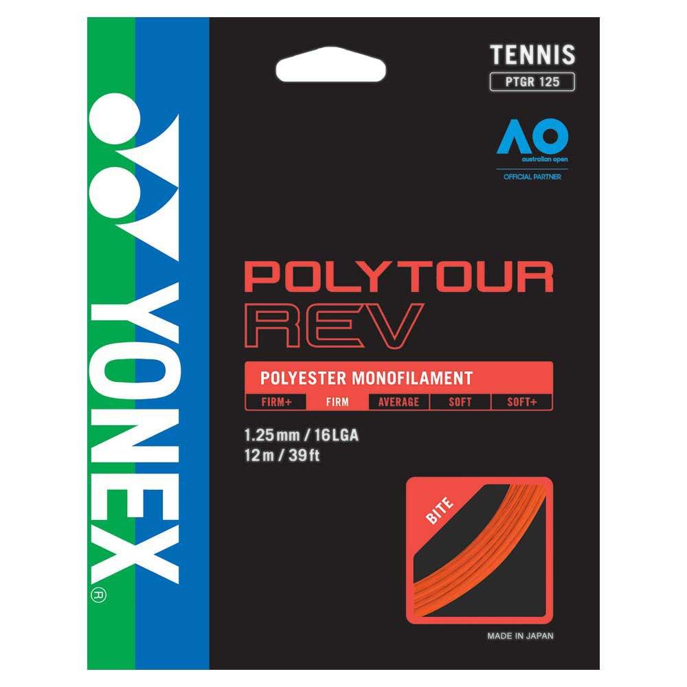 Yonex Polytour Rev 12 M 1.25 mm Bright Orange