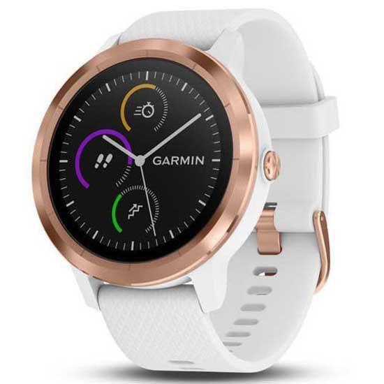 Garmin Reloj Vivoactive 3 Reacondicionado One Size Rosegold / White Strap